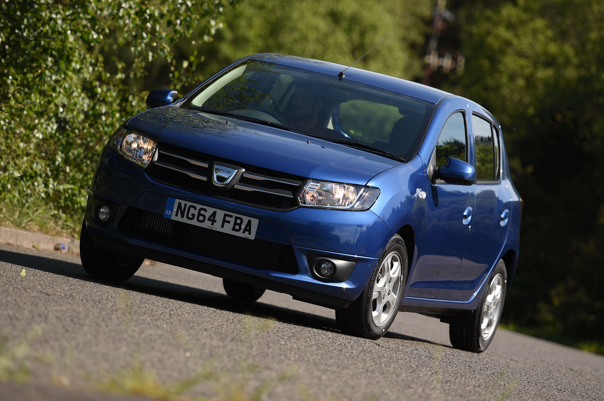 best cars for new drivers - Dacia Sandero 2020