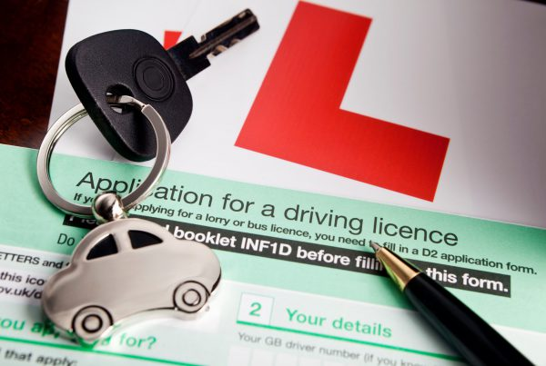 application for a driving licence