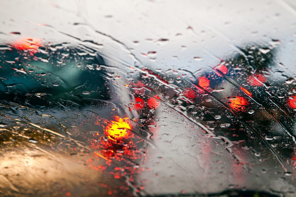 How to drive safely in heavy rain
