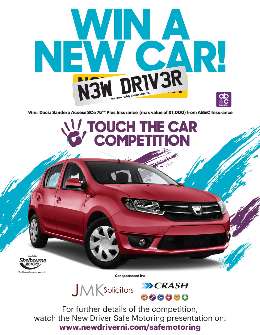 win a car with new driver ni