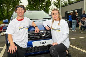 Danielle and Tristin New Driver NI winners
