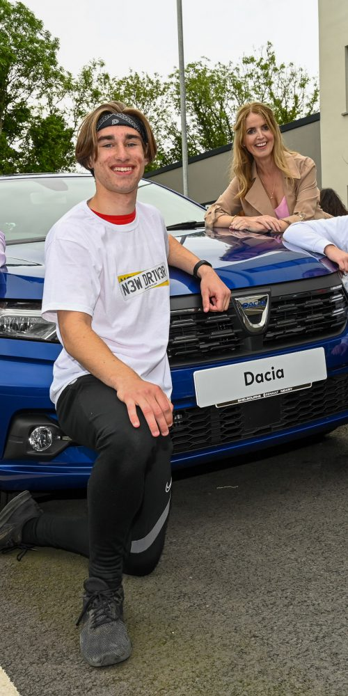 Touch the car competition winners New Driver NI