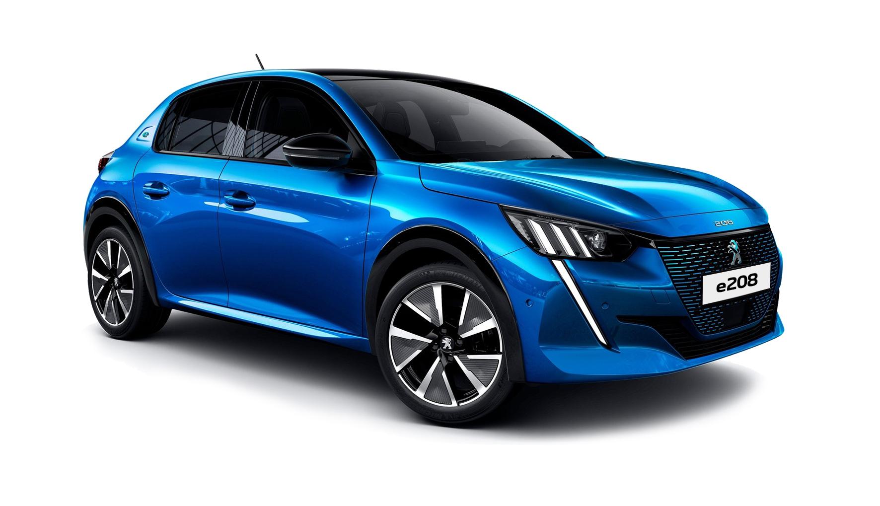 Peugeot_e208 electric car